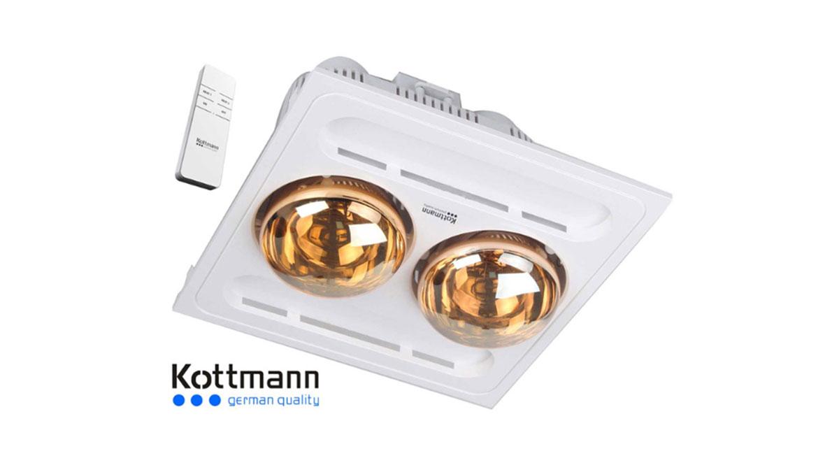 Đèn-Sưởi-Kottmann-K9-R-2-Bóng-Âm-Trần-Bóng-Hồng-Ngoại